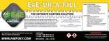 E4E-UR-A-FILL  (Polyurea Crack Filler) 2 Gallon Kit-Two Part Fast Setting High Penetration Crack Filler