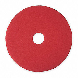 "20"" Non-Woven Polyester Fiber Round Buffing And Cleaning Pad/175 to 600 rpm"