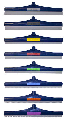 Speed Squeegee-Color Coded Identification, Wide Variety Of Thicknesses, Reusable