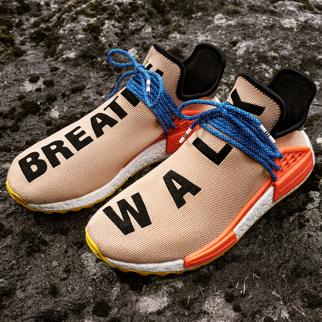 a5cb64c8f91cf Click here to purchase the Pale-Nude NMD Human Race TR once live on our  Solestop website. Pharrell Williams x adidas Originals Human Race NMD Trail  ...