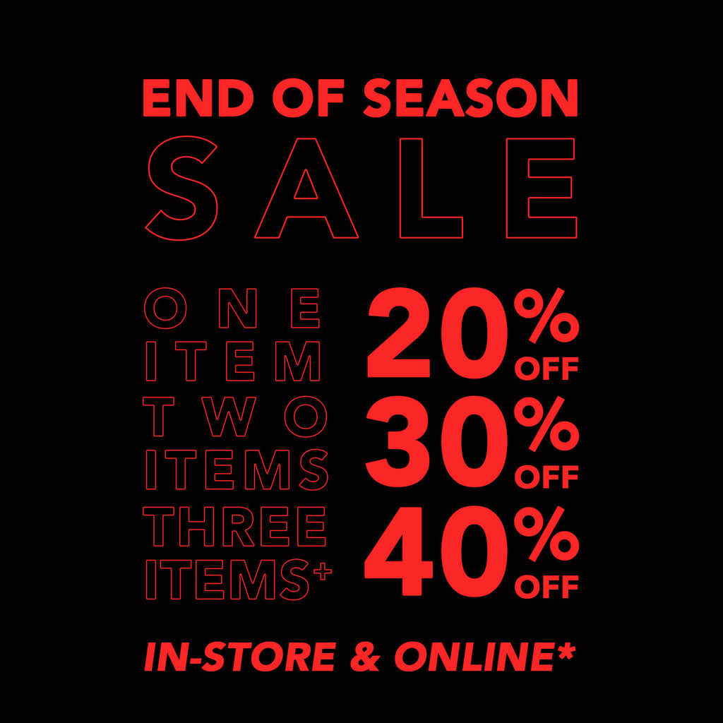 Solestops End of Season Sale - In-Store & Online