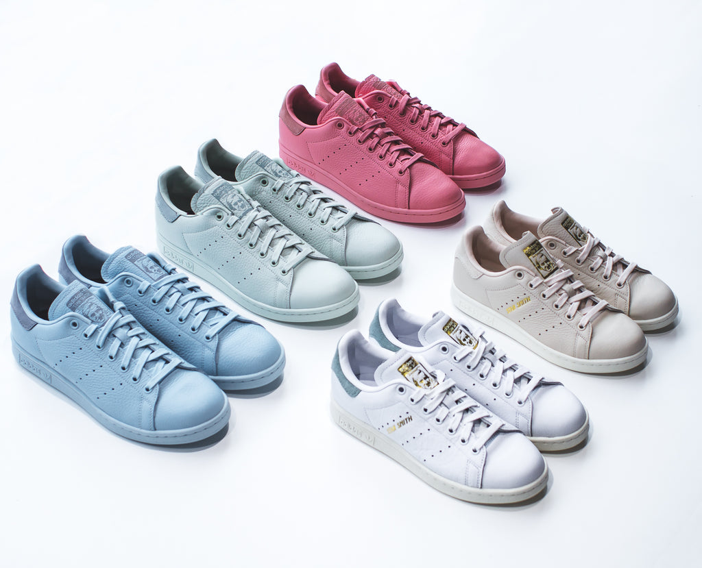 Pharrell Williams x Adidas Originals Tennis Hu & Stan Smith Pastel Pack