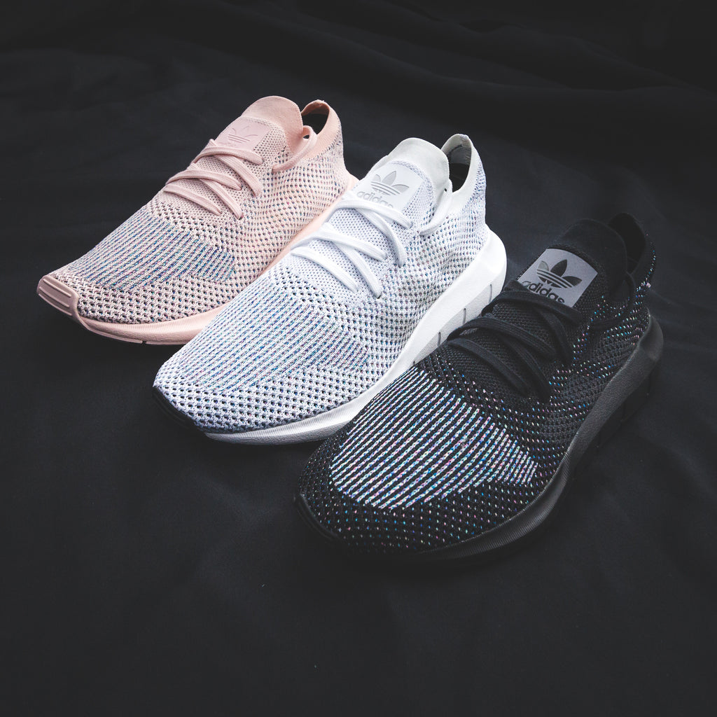 online store 422de b7fec Adidas Originals Womens Swift Run PK Primeknit in Icey Pink - CG4134