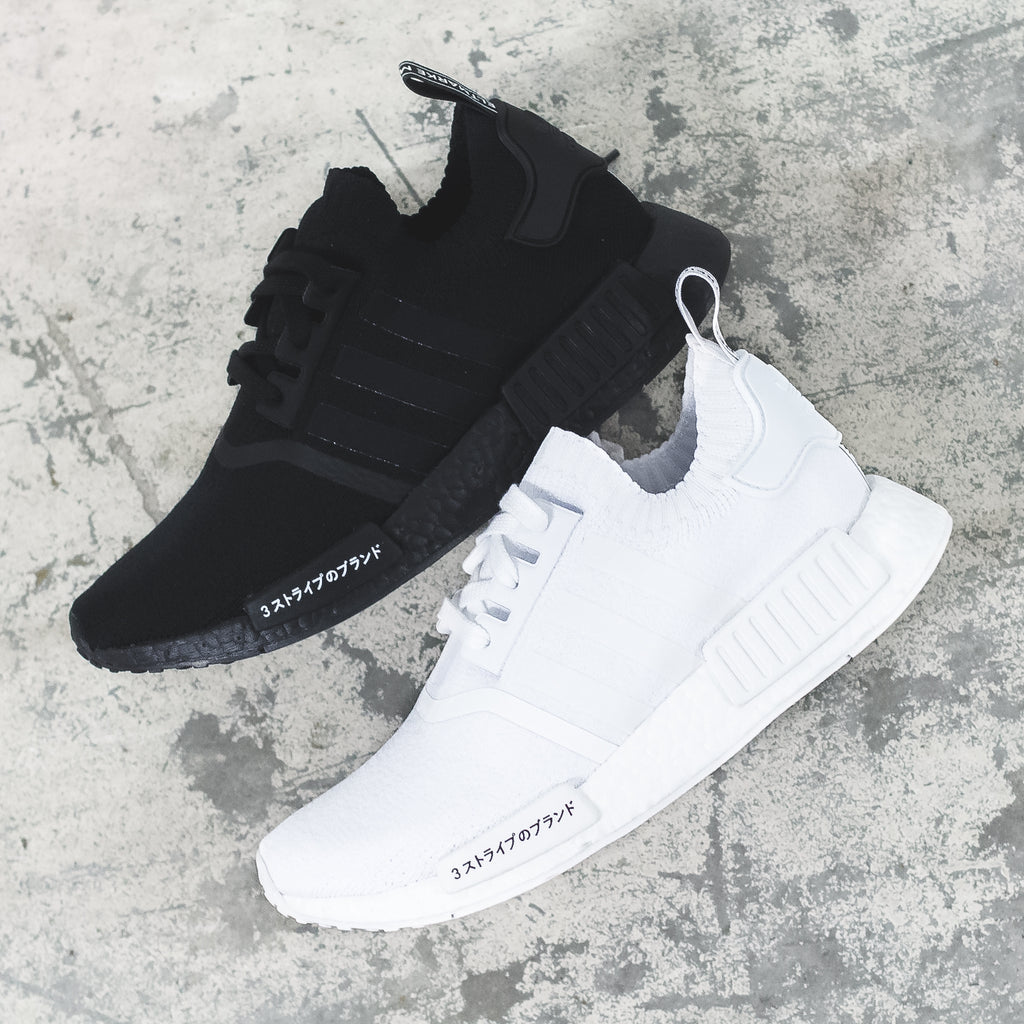 Adidas Originals NMD R1 PK Primeknit Black-BOOST