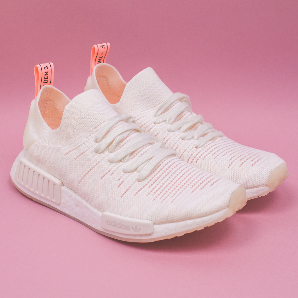 Adidas Originals NMD R1 STLT Pk W Women Boost White Clear Orange B37655.  Price   230 CAD. Available Sizing  5-9 US Women s. Click Shop Now when the  release ... f4ff13d7c