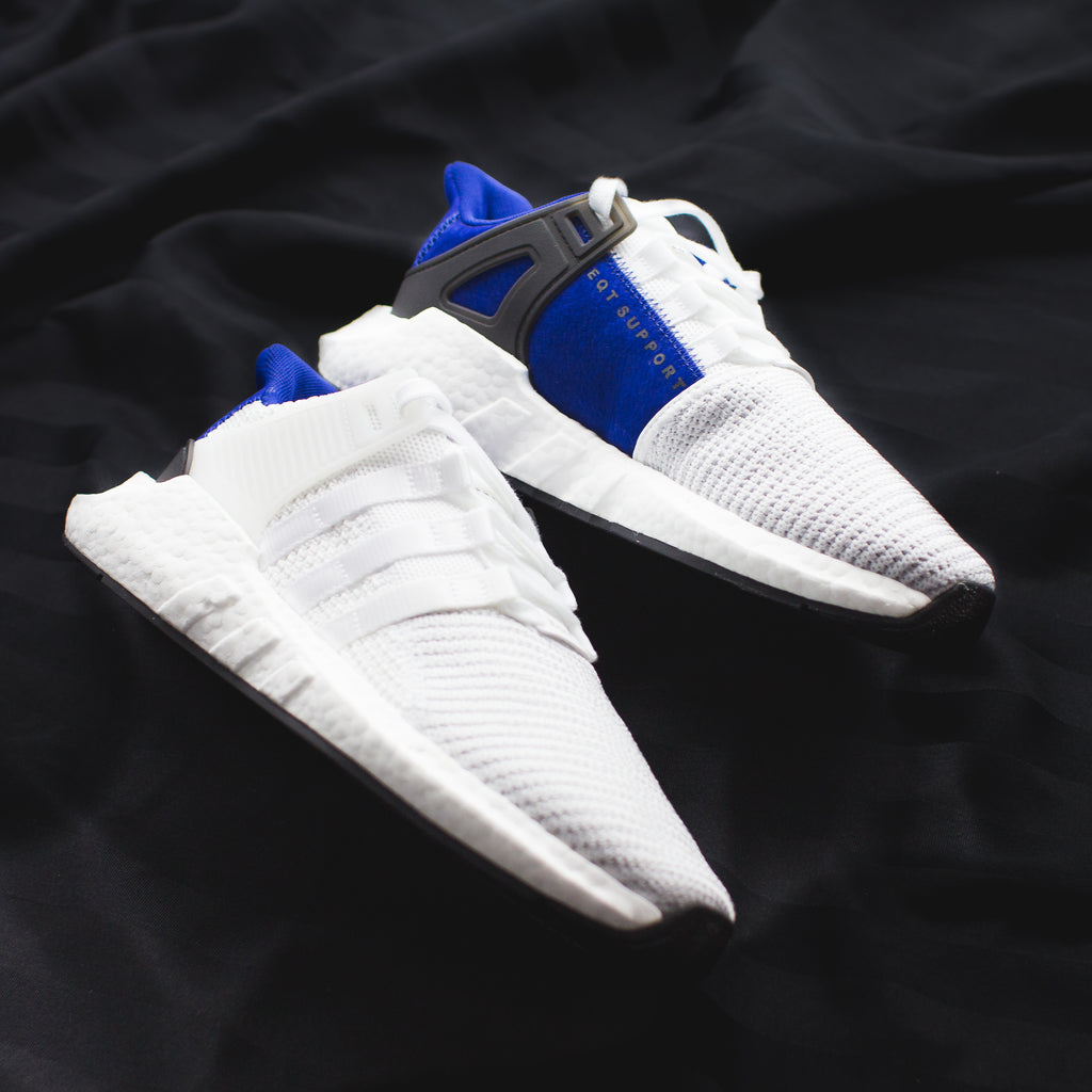 check out fab35 e6039 Adidas Originals EQT Support 93-17 ADV BOOST - White/Royal ...