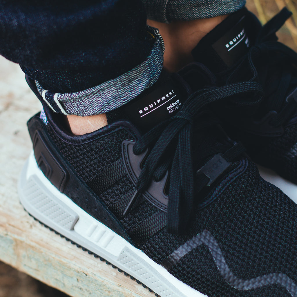 Adidas Originals EQT Cushion ADV in Black/White - (BY9506)