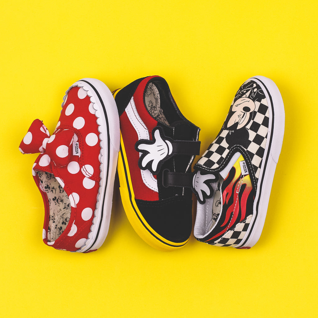 9e9e3af9b8 Vans TD Old Skool V x Disney Mickey Mouse 90th Anniversary Toddlers Kids