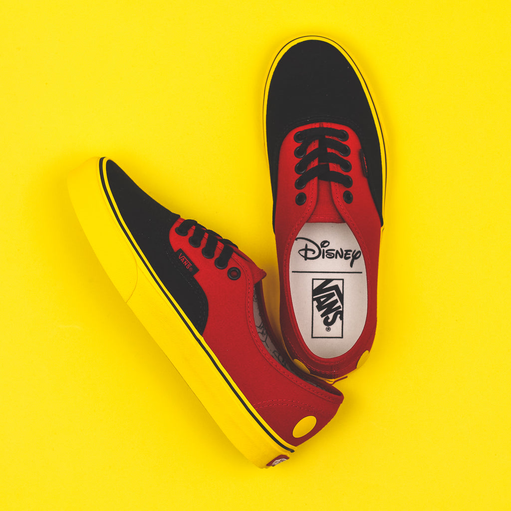 430017e946 Vans UA Old Skool x Disney Mickey Mouse 90th Anniversary Black Red Men