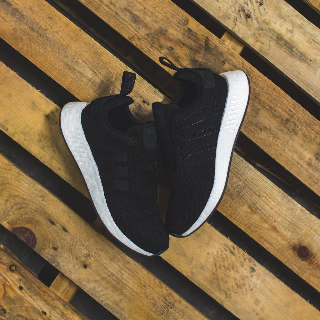 online store 4c6d5 2782b Adidas NMD R2 Boost in Clear White/Black White - (CQ2401 ...