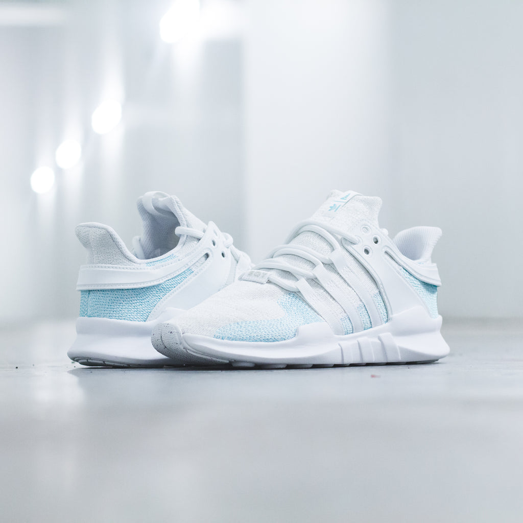 the latest 54774 04d8b Parley For The Oceans x Adidas Originals EQT Support ADV 9116 CK in  NavyIcey Blue - CQ0299