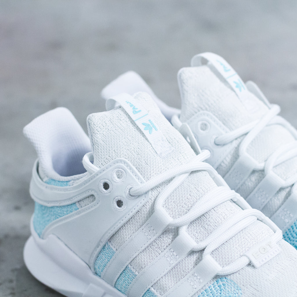 Parley For The Oceans x Adidas Originals EQT Support ADV 91/16 in White/Icey Blue (AC7804) & Navy/Icey Blue(CQ0299)