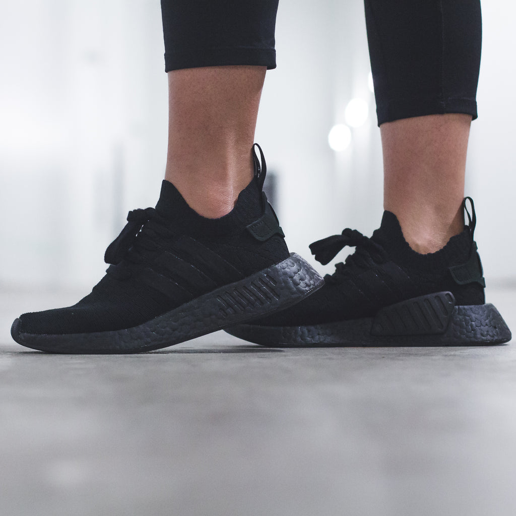 8423be5a454c1 Click here to purchase the Womens Triple-Black NMD R2 once live on our  website.