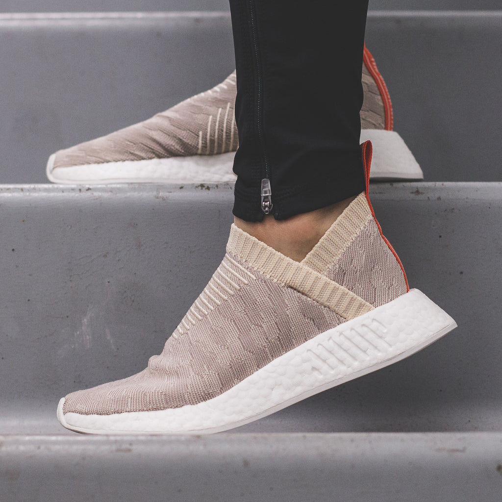 90c67f44c2f75 Adidas Originals NMD CS2 PK City Sock Primeknit Boost Womens Linen Beige -  (CQ2039). Price   240 CAD. Available Sizing  5-9 US Womens