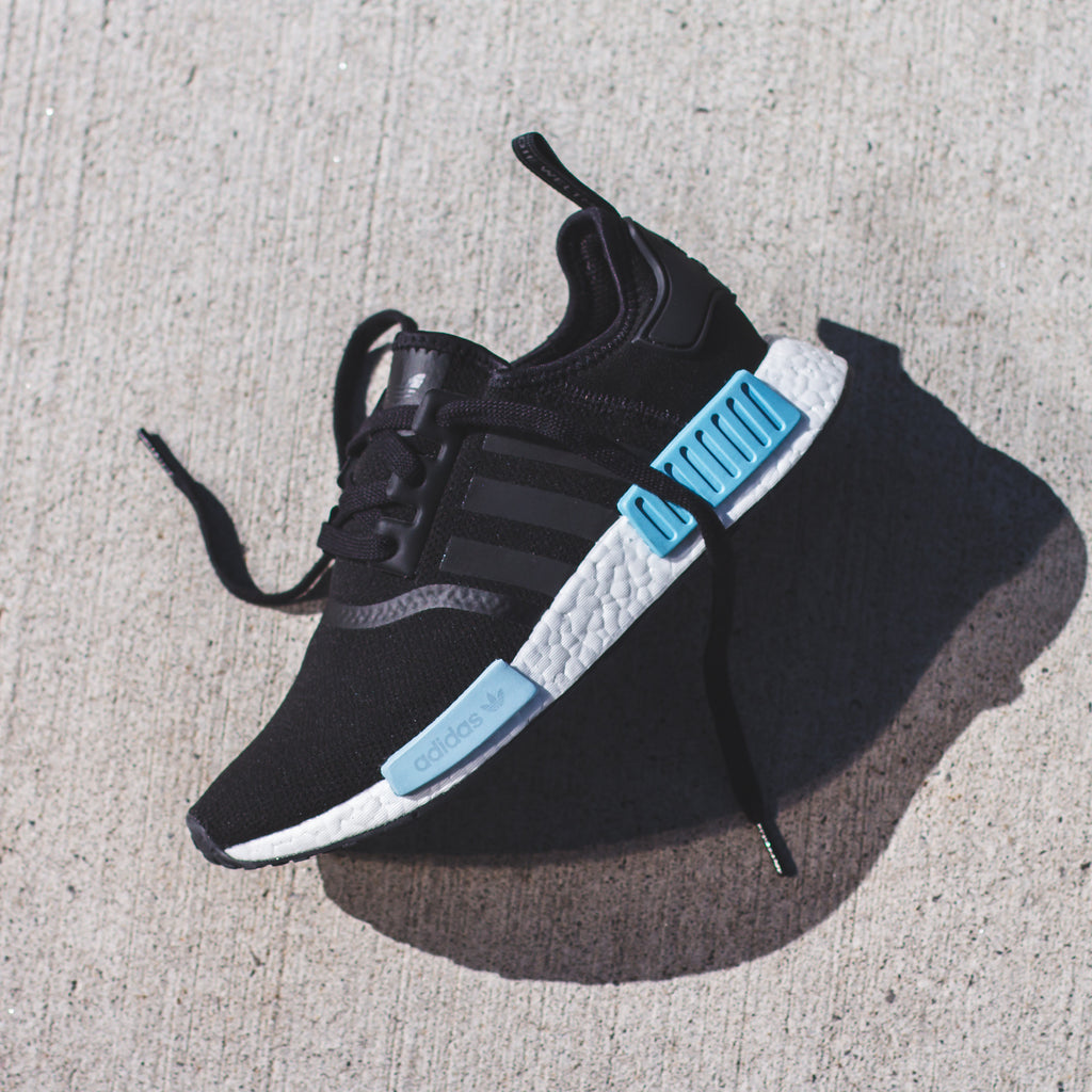 Adidas Originals Womens Nmd R1 Icey Blue By9951 White Rose