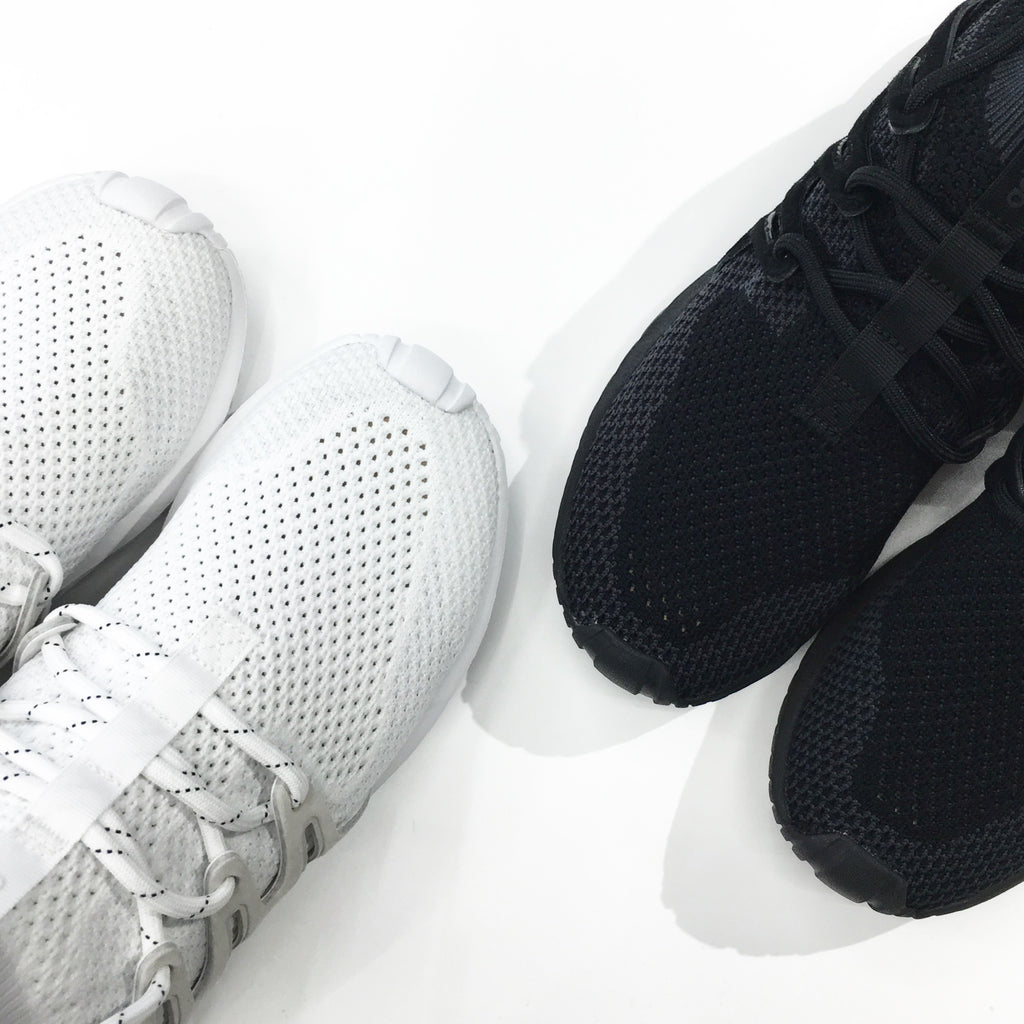 Adidas Originals Tubular Nova Primeknit in Triple-White/Triple-Black