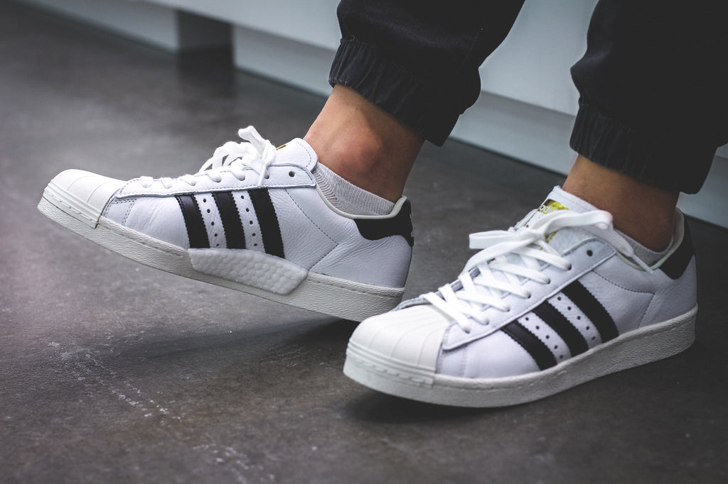 shoes rainbow adidas adidas superstars black and white