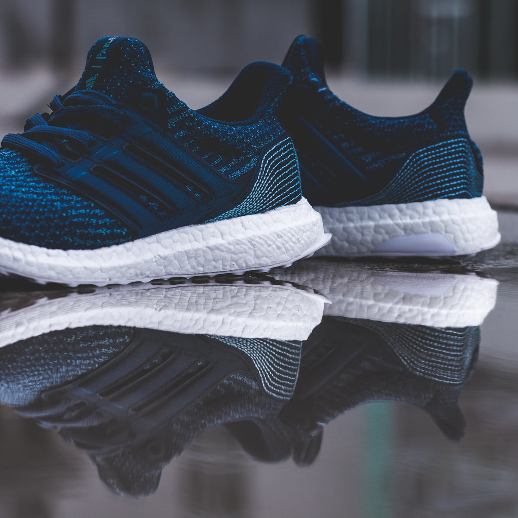 663f47518 Parley For The Ocean x Adidas UltraBOOST Uncaged in Navy Blue - BY3057