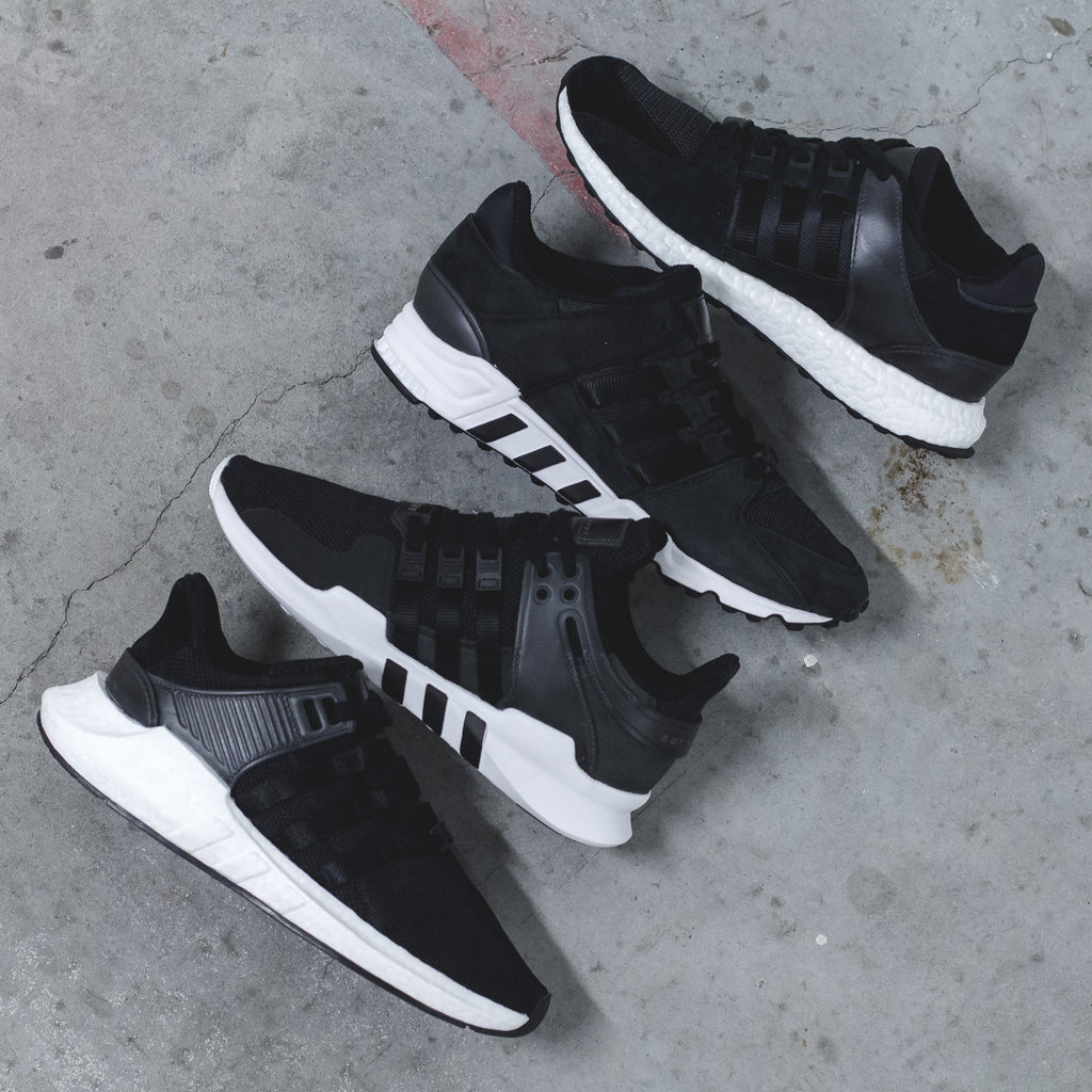 new style d6822 6ebf5 Adidas Originals EQT Support 9317 ADV Boost in Core Black - (BB1236)