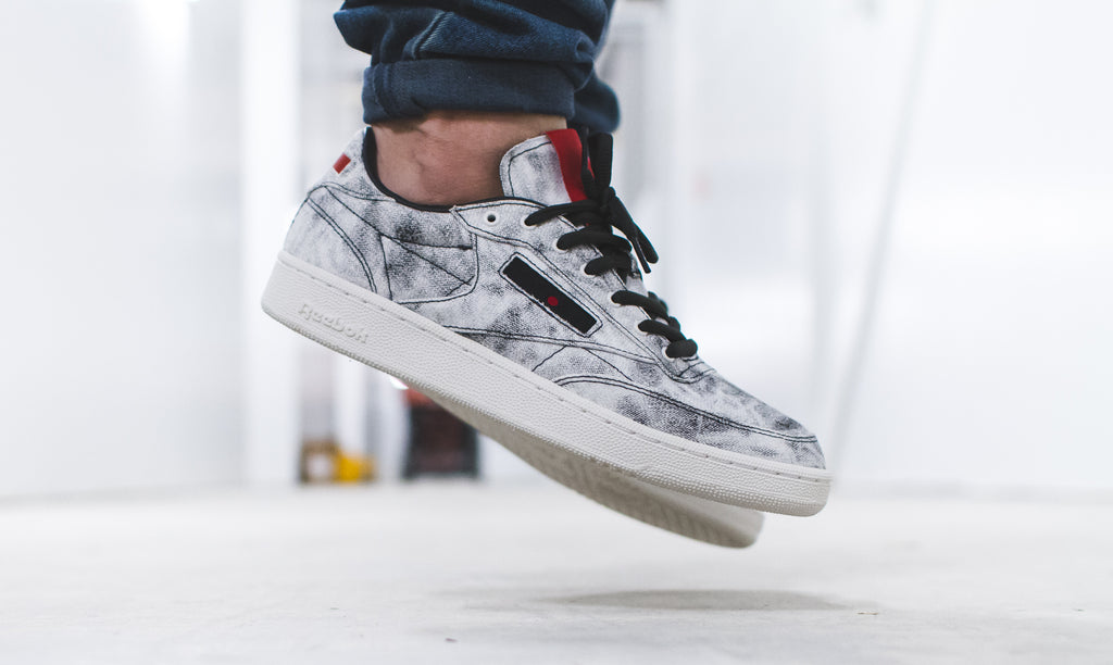 Kendrick Lamar x Reebok Classic Club C in White/Coal - BS8205
