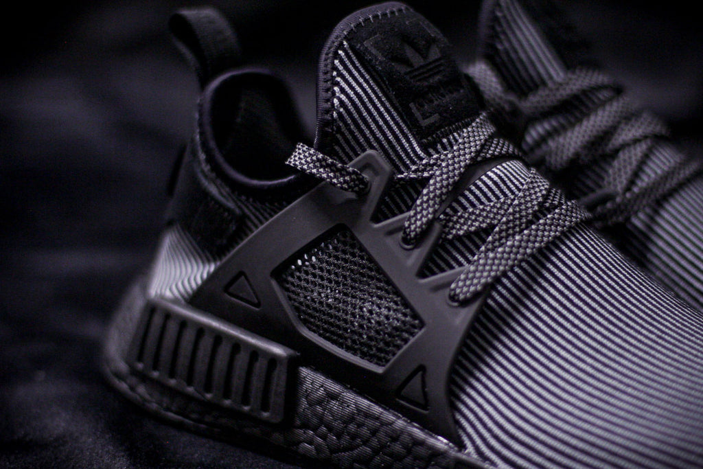 Adidas Originals NMD XR1 & Mesh R1 Triple-Black with Black BOOST - S31508/S32211