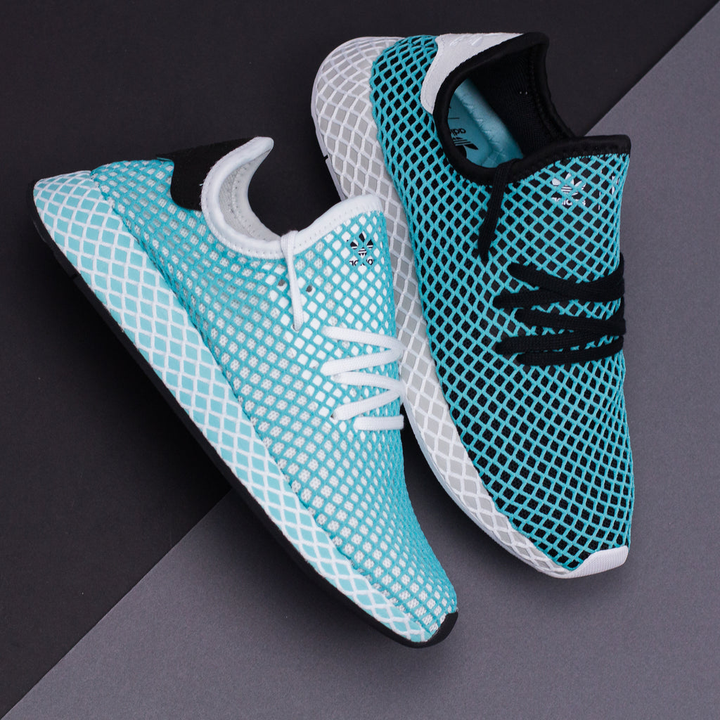 timeless design 279e5 95a22 Adidas Originals Deerupt Runner Parley W Women White CQ2908. Price 150  CAD. Available Sizing 5-9.5 US Womens