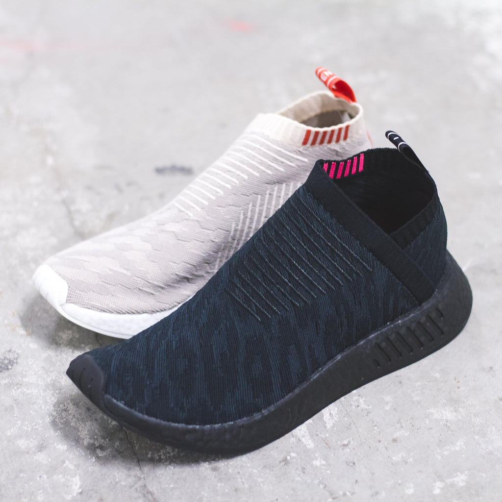ca4ad1c4f Adidas Originals NMD CS2 PK City Sock Primeknit Boost Womens Linen Beige -  (CQ2039)