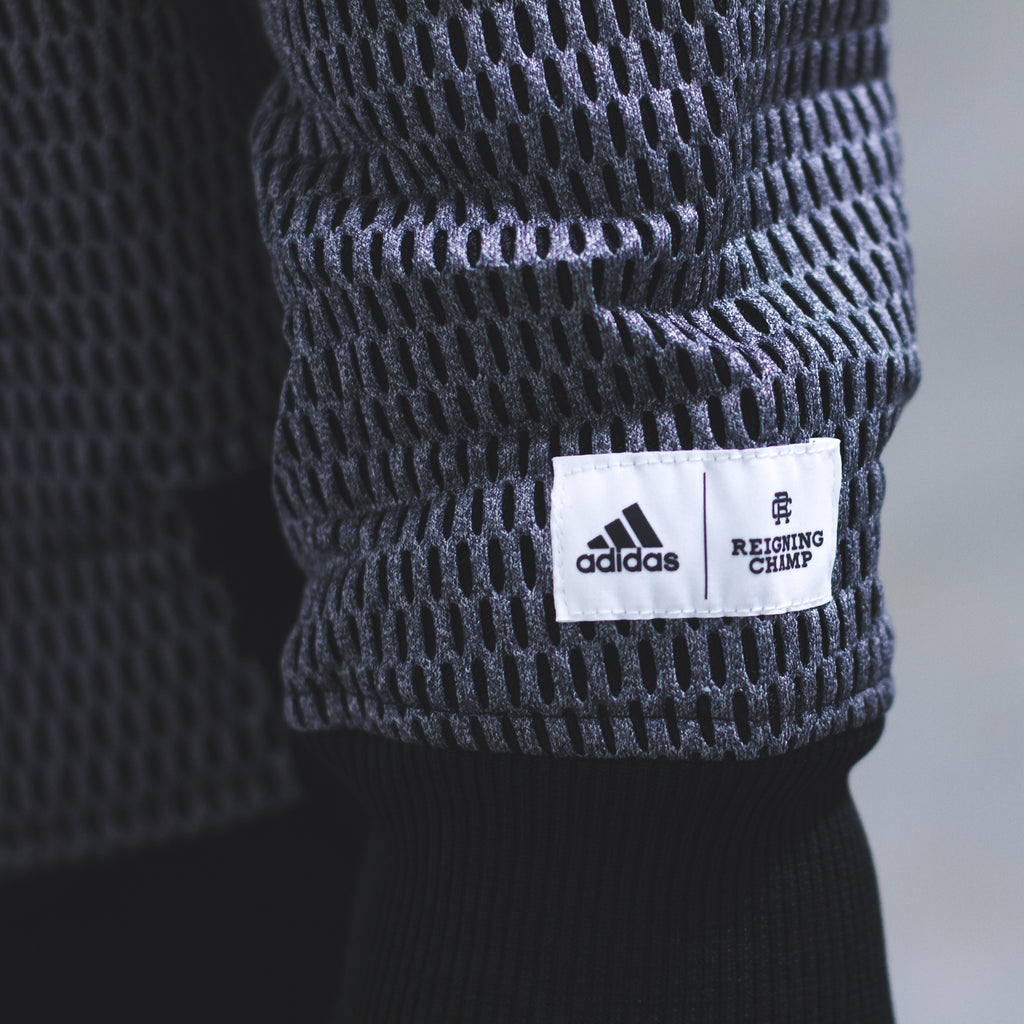 Reigning Champ x Adidas Athletics collection - Mens/Womens Athletic Apparel & Womens PureBOOST X in Grey/Black - B39255