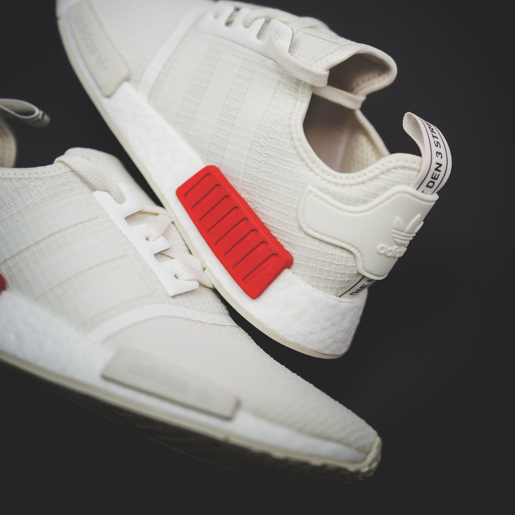 b76b726e64d68d Adidas Originals NMD R1 Boost Off White Lush Red - (B37619 ...