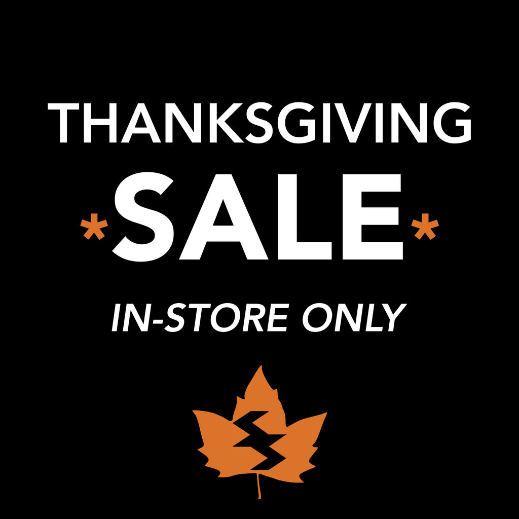 Thanksgiving Sale! October 7th - October 10th