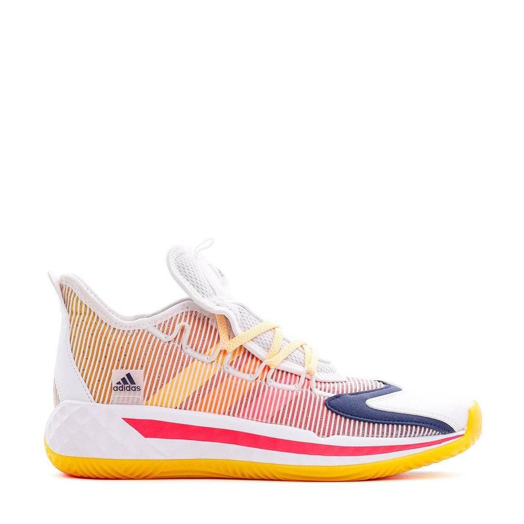 FOOTWEAR - Adidas Basketball Men Pro Boost Low White Gold Orange FW8653