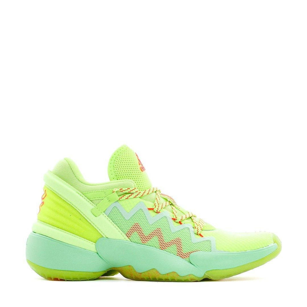 FOOTWEAR - Adidas Basketball Men X Marvel D.O.N. Donovan Mitchell Issue 2 Spida Sense Glow Mint FU7385