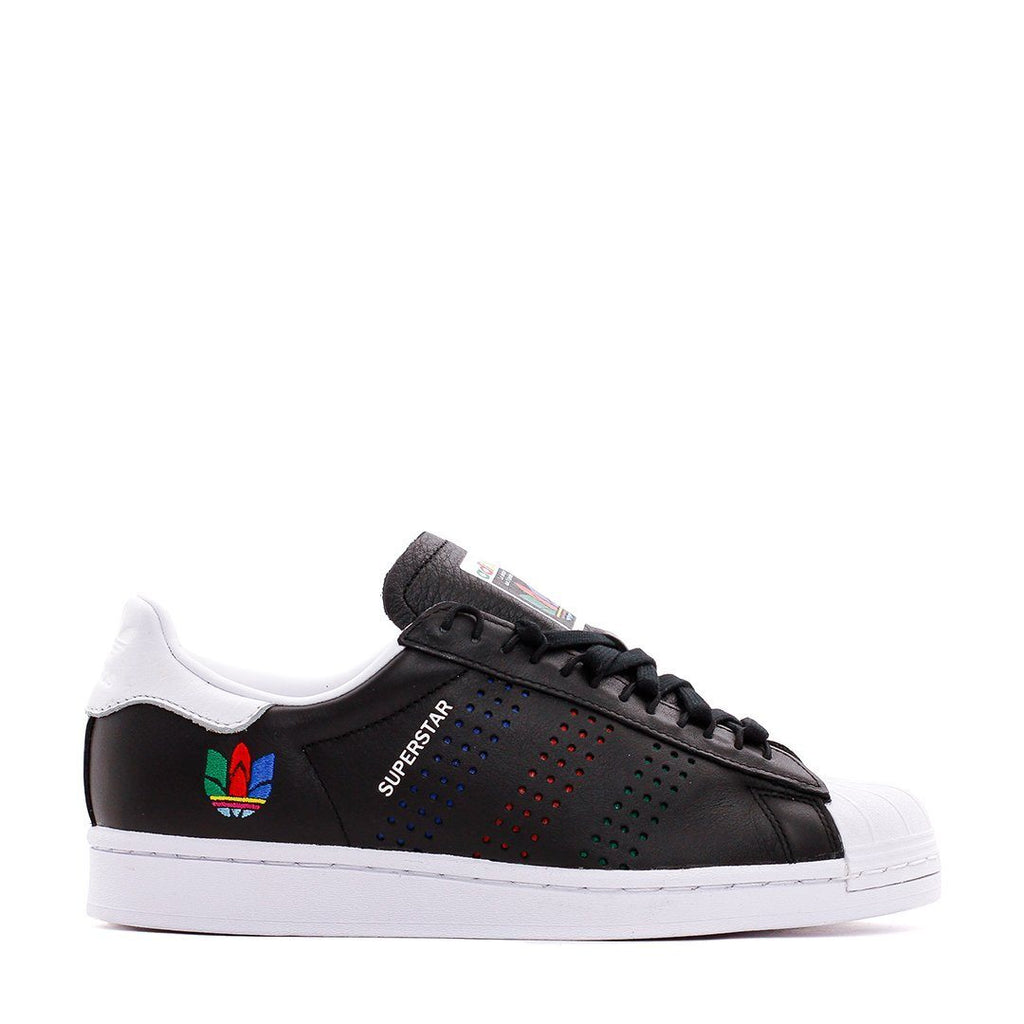 FOOTWEAR - Adidas Originals Men Superstar Black White FW5387