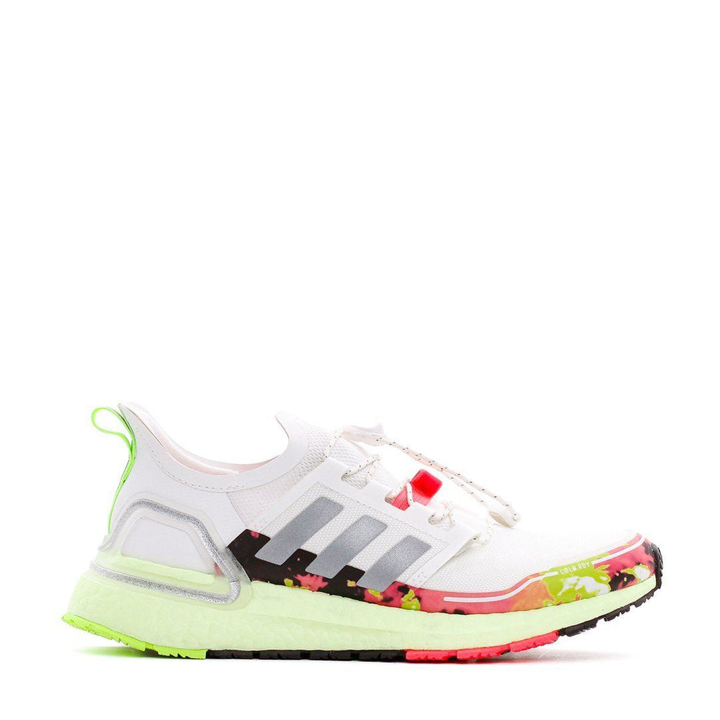 FOOTWEAR - Adidas Running Women Ultra Boost C.RDY White Green Pink Ultraboost FV6995