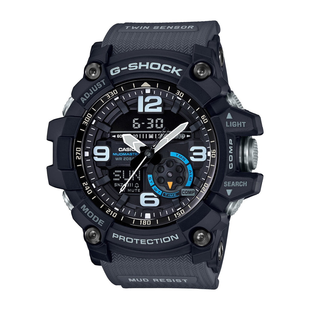 Casio G-Shock Master Of G Mudmaster Black GG1000-1A8 - ACCESSORIES - Solestop.com - Canada