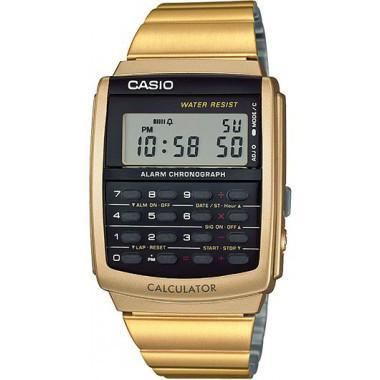 ACCESSORIES - Casio Vintage Calculator Watch Gold CA506G-9A