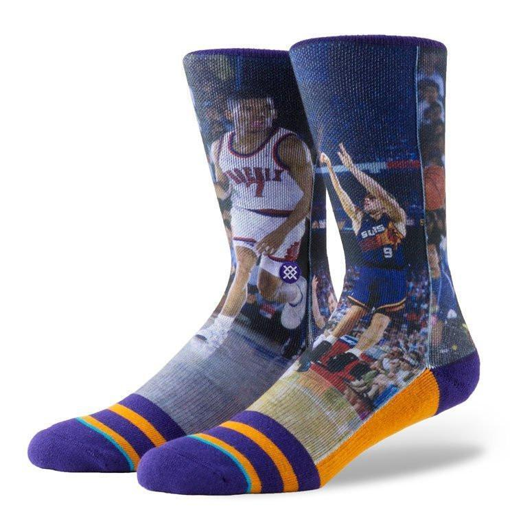ACCESSORIES - INSTANCE NBA THUNDER DAN / KEVIN JOHNSON PURPLE SOCKS M3150THJ-PUR