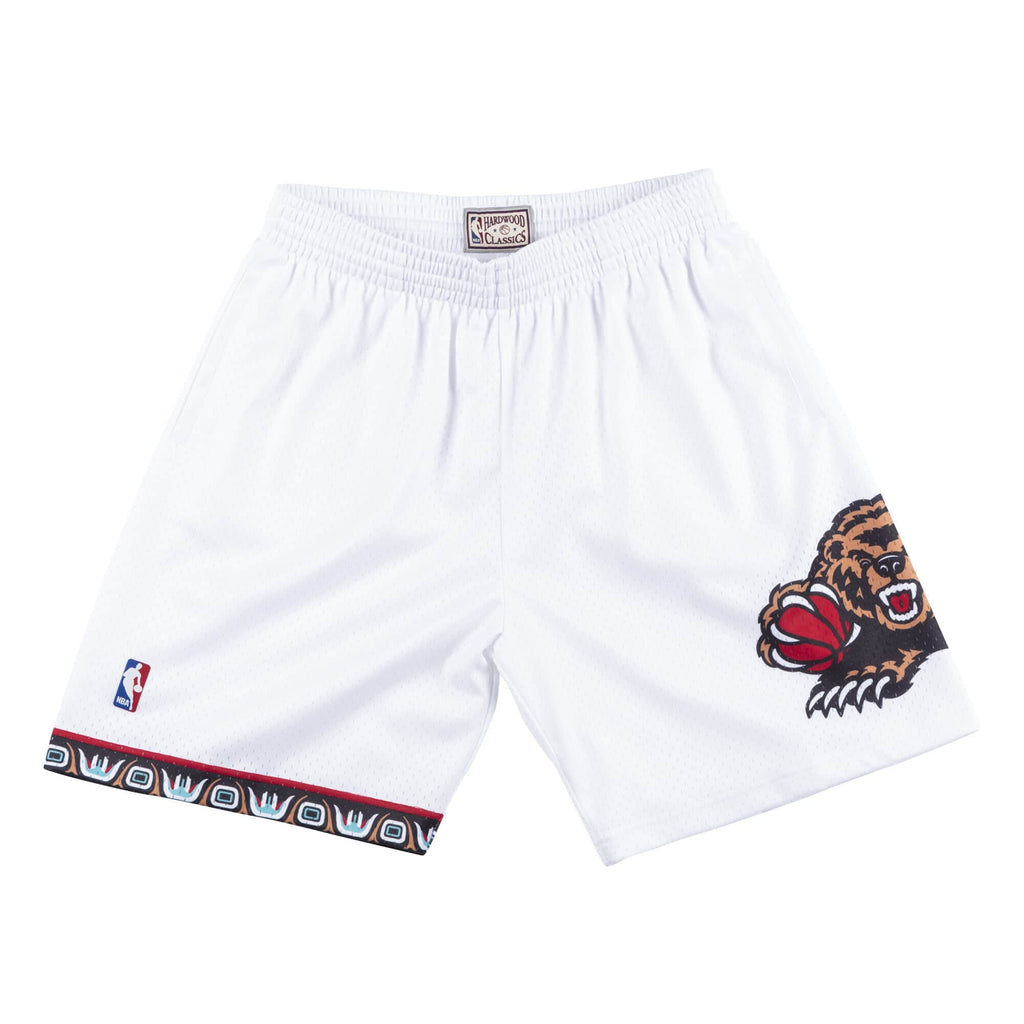 Mitchell & Ness Men NBA Vancouver Grizzlies Swingman Shorts White SSH18155VGRW98 - SHORTS - Solestop.com - Canada