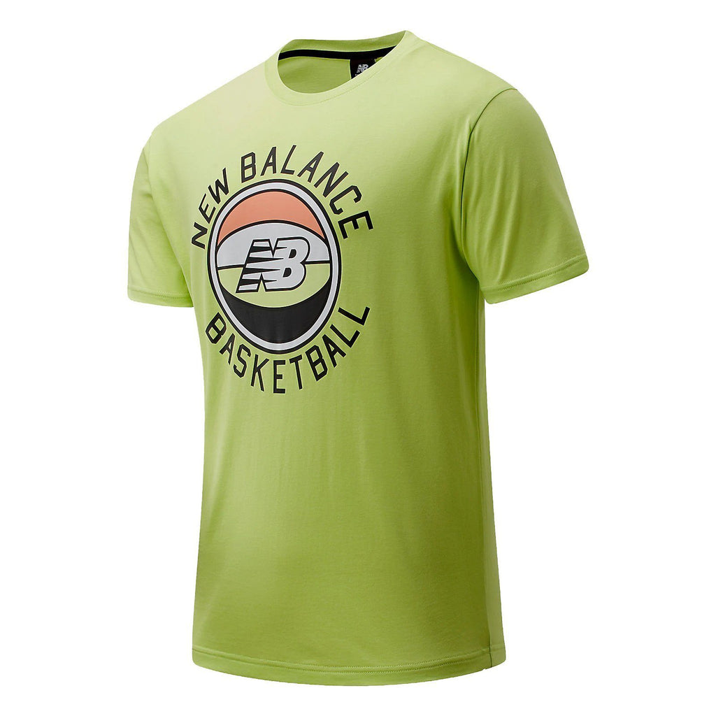T-SHIRTS - New Balance Basketball Men First Light Tee Lemon Slush MT01681-LS2