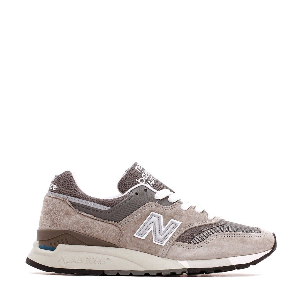 FOOTWEAR - New Balance Grey Silver White Made In USA M9975GR