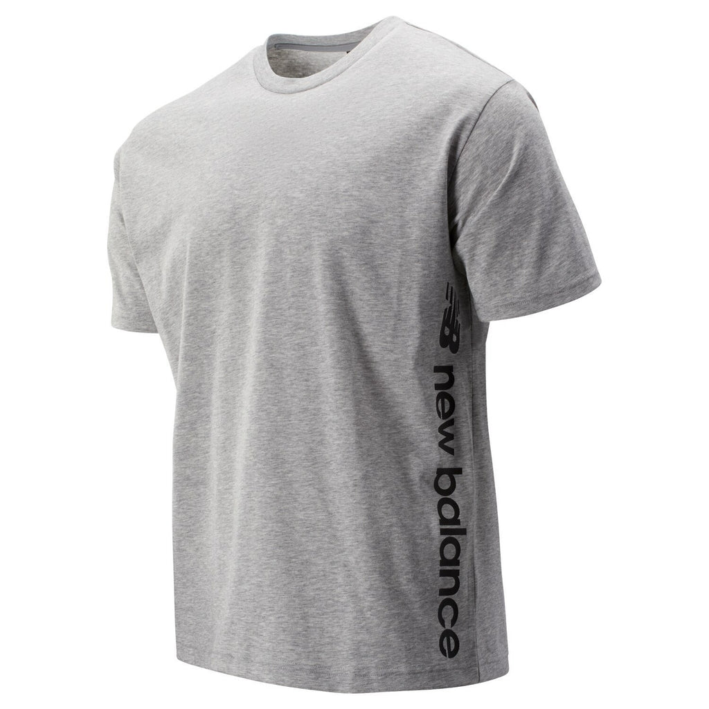 T-SHIRTS - New Balance Sport Style Graphic Tee Athletic Grey Men MT93534-AG