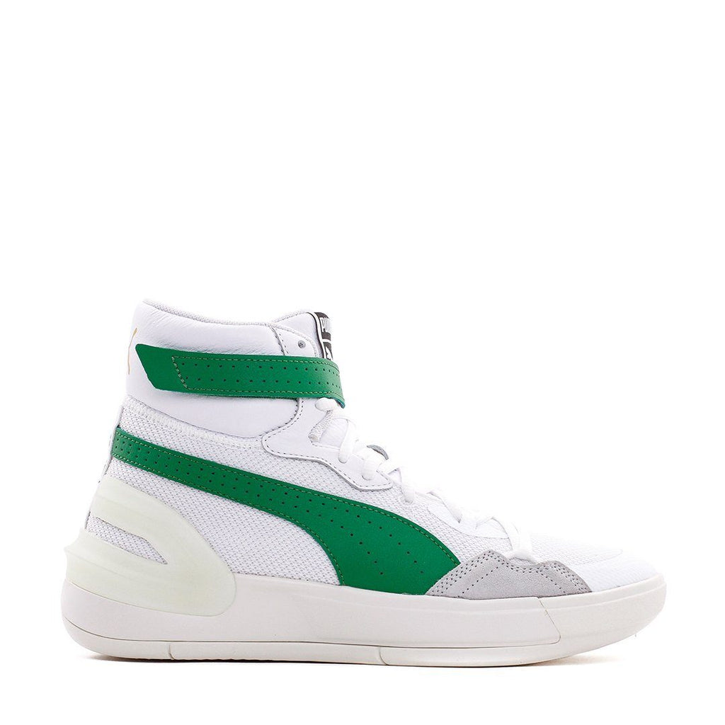 FOOTWEAR - Puma Men Sky Modern White Green 194042-02