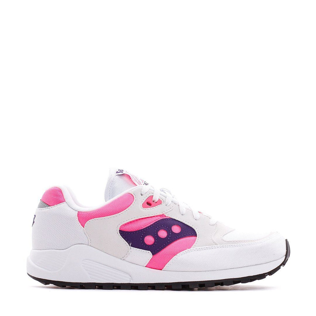 FOOTWEAR - Saucony Jazz 4000 White Pink Purple Men S70487-1
