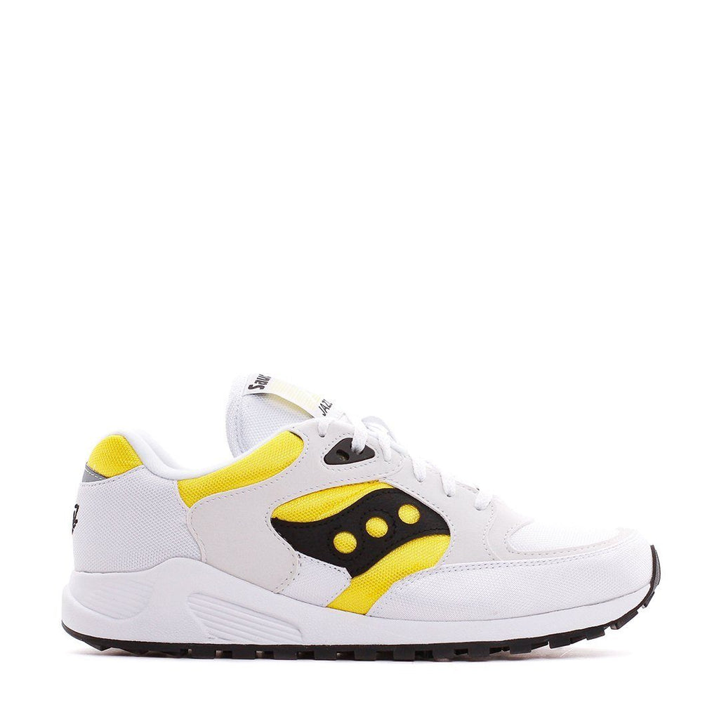 FOOTWEAR - Saucony Originals Men Jazz 4000 White Yellow Black S70487-3