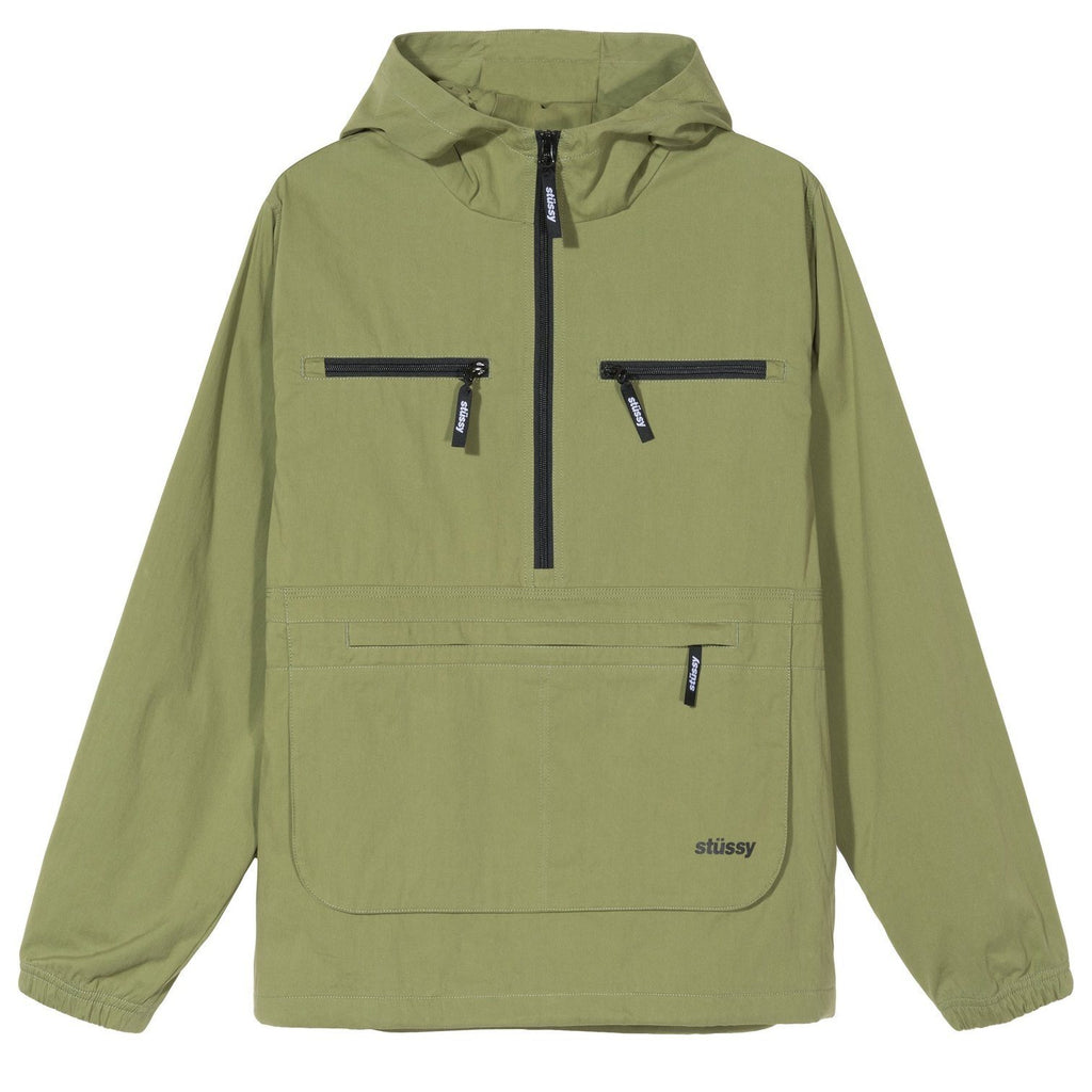 OUTERWEAR - Stussy Big Pocket Anorak Moss Men 115476-MOSS