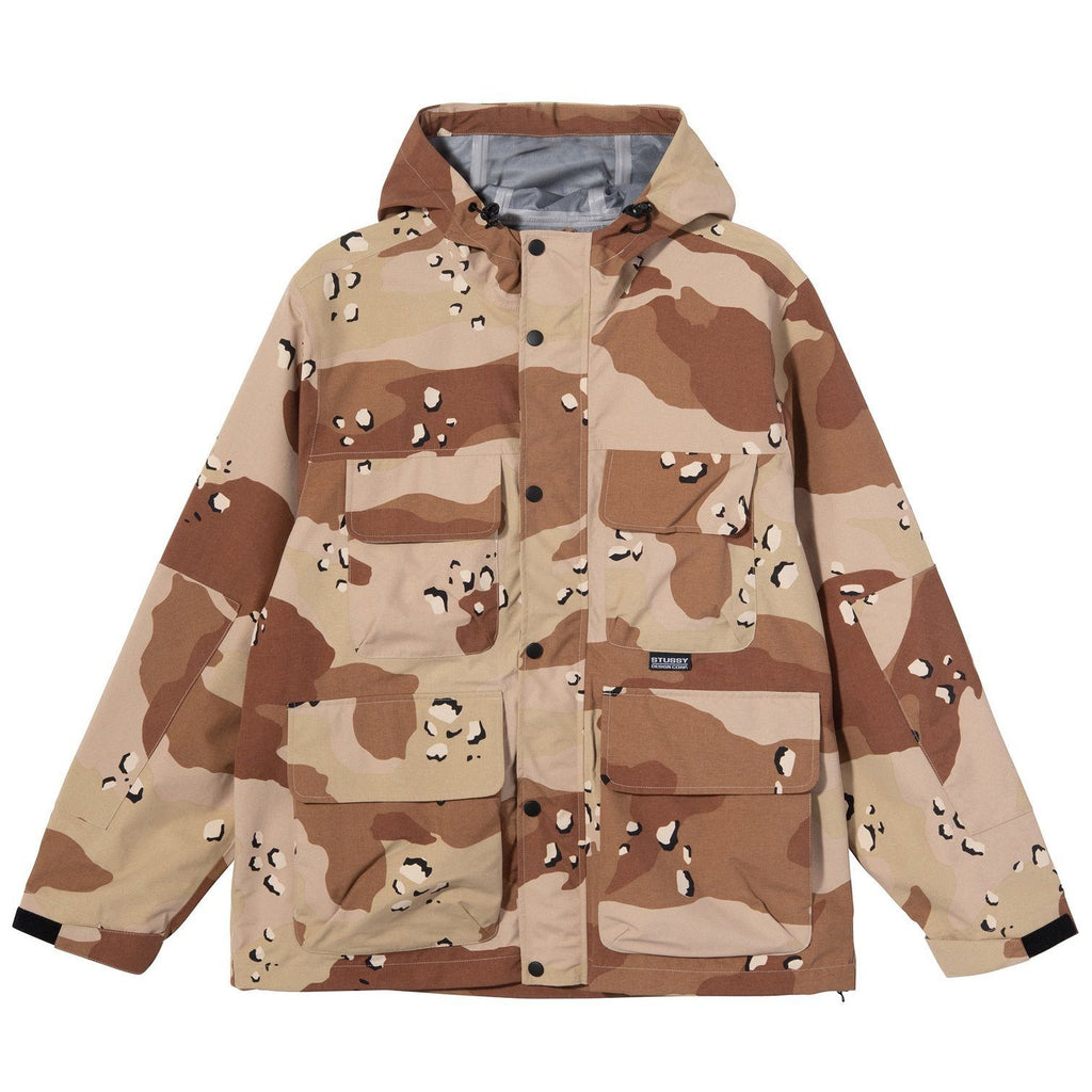 OUTERWEAR - Stussy Men Camo Taped Seam Field Jacket 115528-CAMO