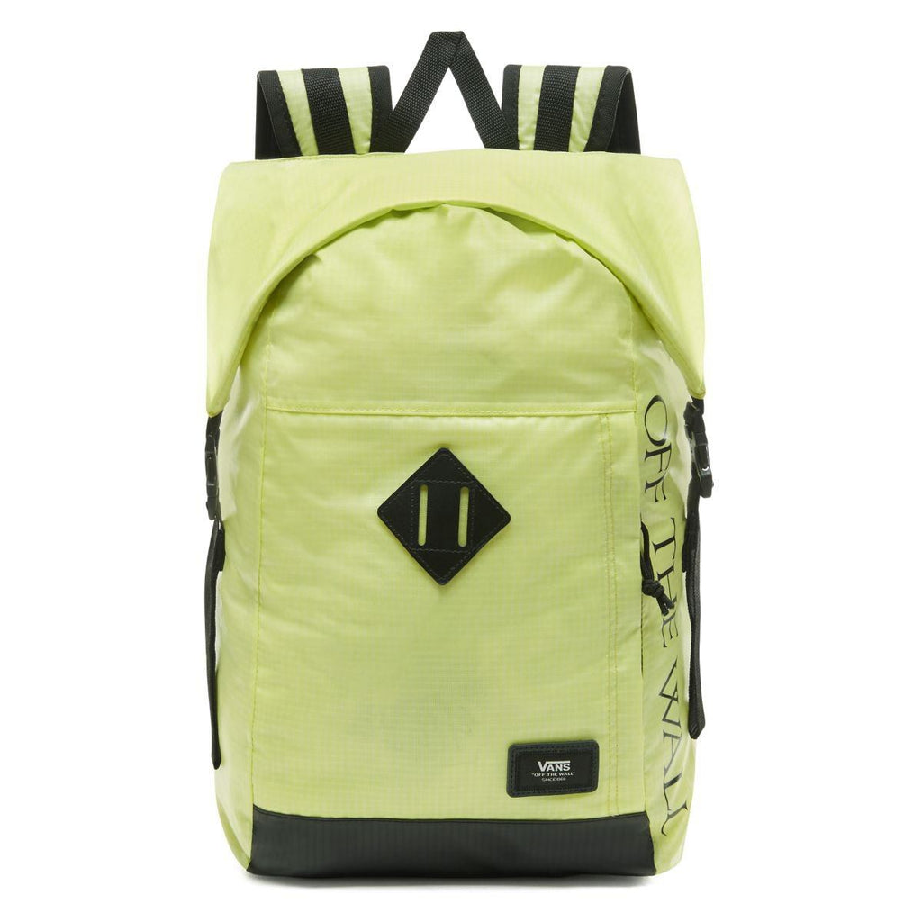 BAGS - Vans Fend Roll Top Backpack Sunny Lime VN0A36YJTCY