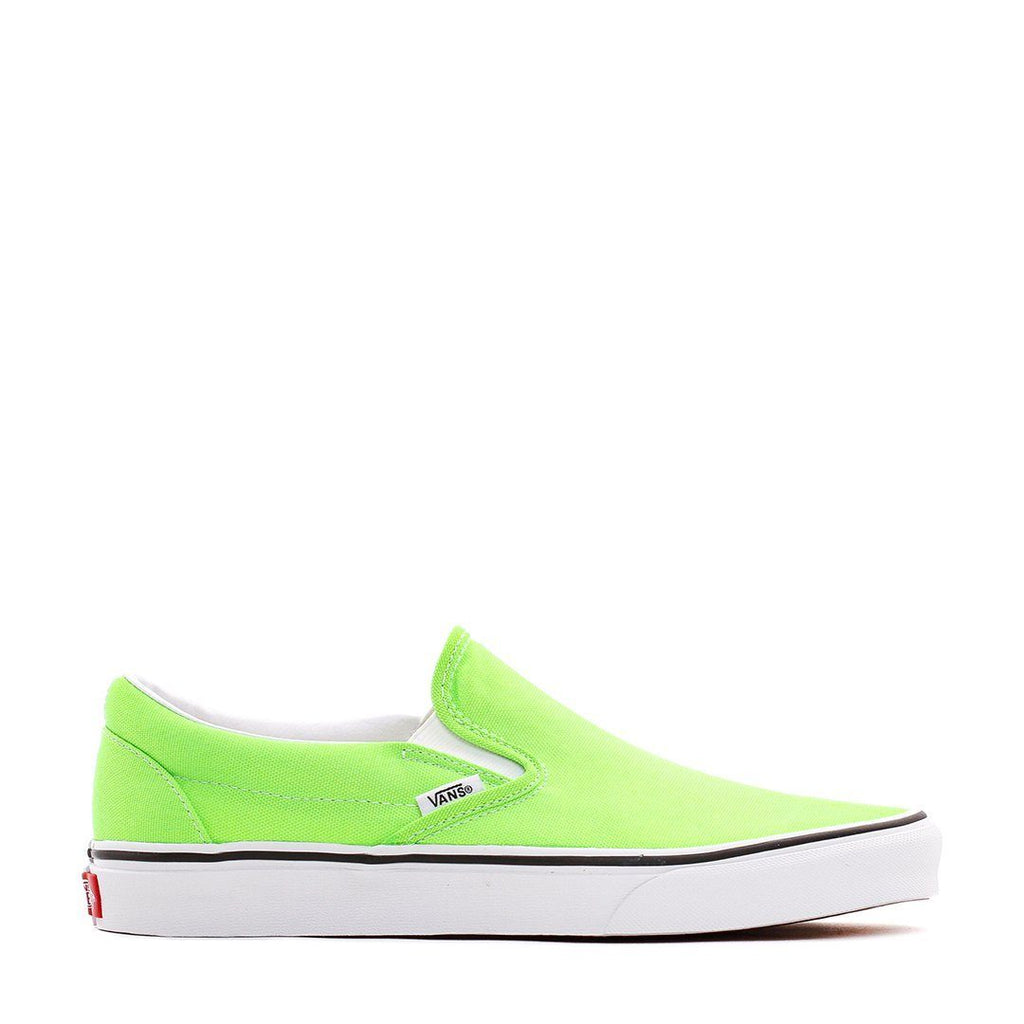 FOOTWEAR - Vans Men UA Classic Slip-On Neon Green VN0A4U38WT5