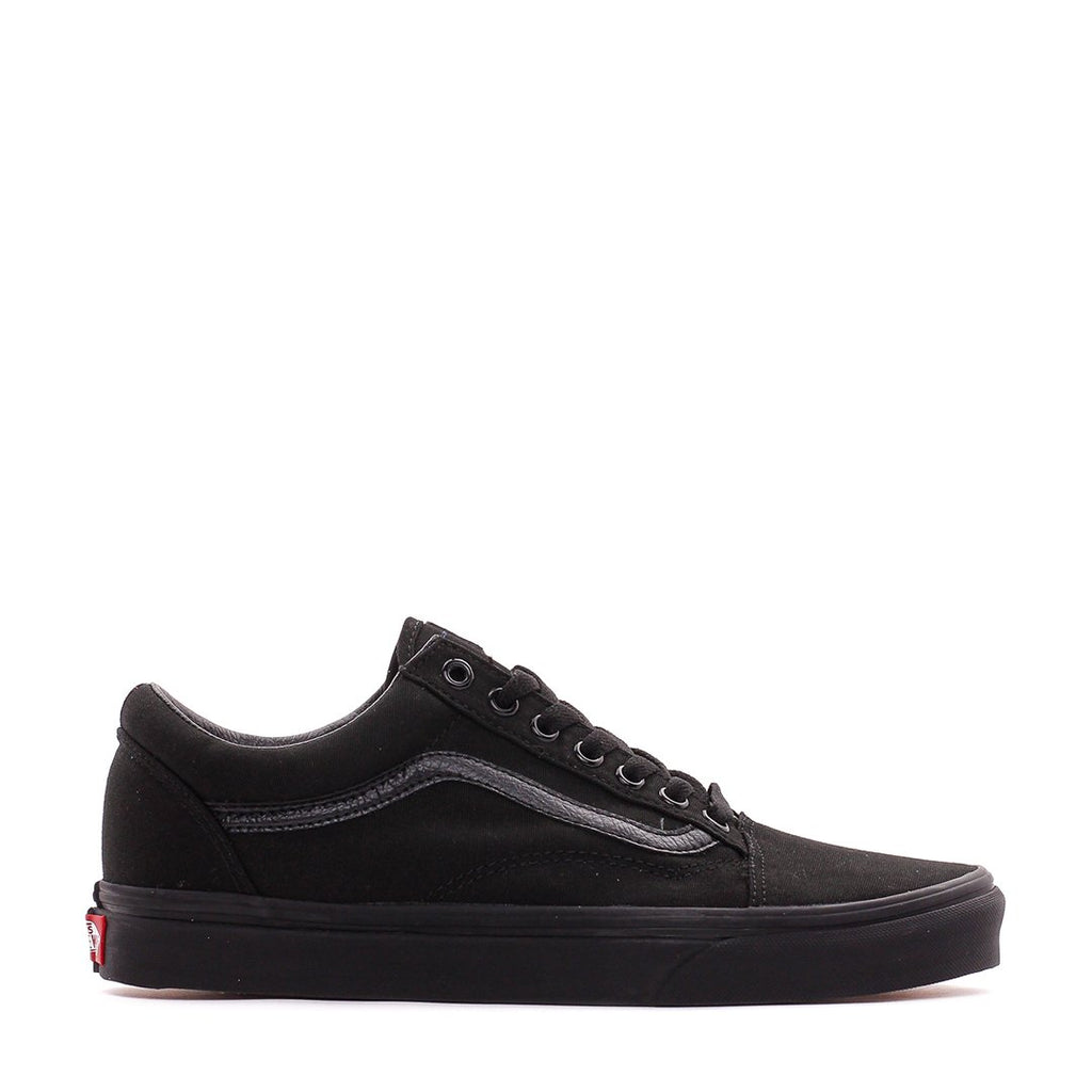 Vans UA Old Skool Black Black Men Core VN000D3HBKA - FOOTWEAR - Solestop.com - Canada