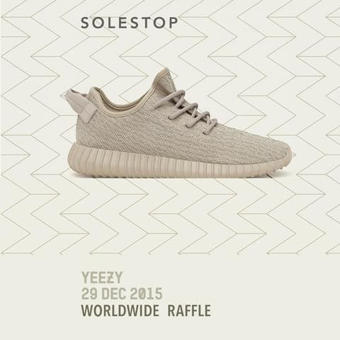 Solestop Adidas Yeezy Boost 350 Kanye West Oxford Tan Raffle AQ2661